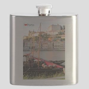 I Heart Porto #2 Flask
