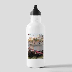 I Heart Porto #2 Stainless Water Bottle 1.0L