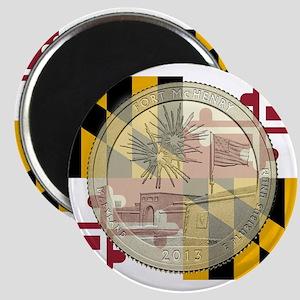 Maryland Quarter 2013 Magnet