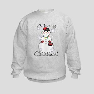 Merry Christmas! Kids Sweatshirt