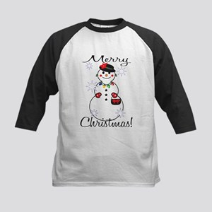 Merry Christmas! Kids Baseball Jersey