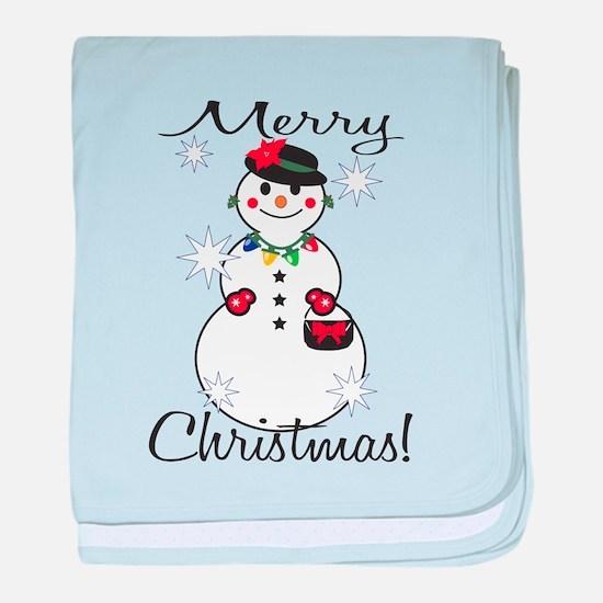 Merry Christmas! baby blanket
