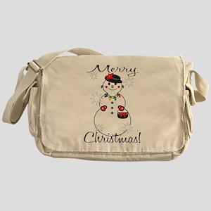 Merry Christmas! Messenger Bag