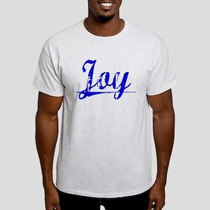 Joy, Blue, Aged Light T-Shirt