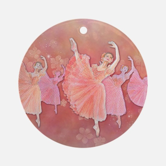 Waltz of the Flowers Ornament (Round)