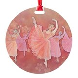 Nutcracker ballet Round Ornament