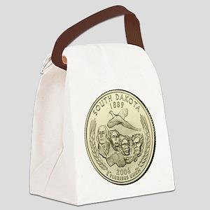 South Dakota Quarter 2006 Basic Canvas Lunch Bag