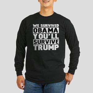 Pro-Trump, Anti Obama Long Sleeve T-Shirt