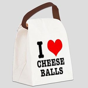 CHEESE BALLS Canvas Lunch Bag