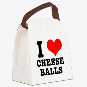 CHEESE BALLS.png Canvas Lunch Bag