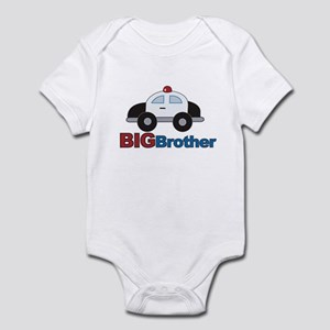 Police Car Big Brother Infant Bodysuit