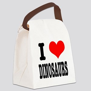 dinosaurs Canvas Lunch Bag