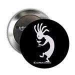 Kokopelli Martini Drinker Button