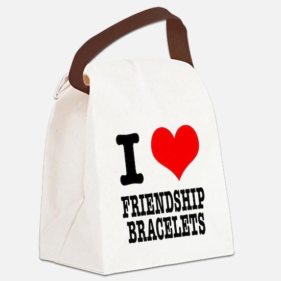 FRIENDSHIP BRACELETS.png Canvas Lunch Bag
