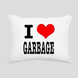 GARBAGE Rectangular Canvas Pillow
