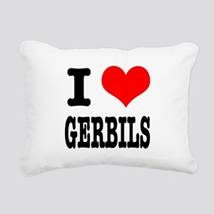 GERBILS Rectangular Canvas Pillow