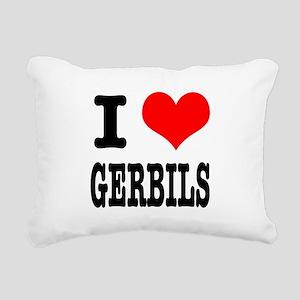 GERBILS Rectangular Canvas Pillow