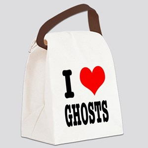 GHOSTS Canvas Lunch Bag