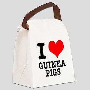 GUINEA PIGS Canvas Lunch Bag