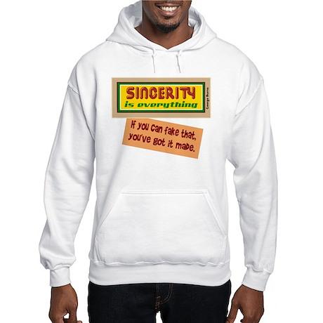 Fake Sincerity-George Burns/t-shirt Hooded Sweatsh