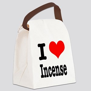 incense Canvas Lunch Bag