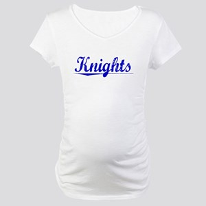 Knights, Blue, Aged Maternity T-Shirt