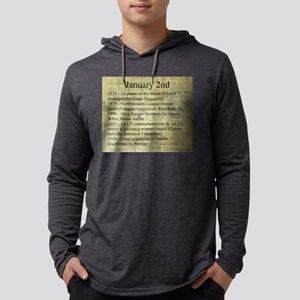 January 2nd Mens Hooded Shirt