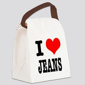 JEANS Canvas Lunch Bag