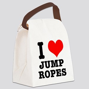 jump ropes Canvas Lunch Bag