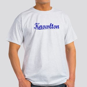 Knowlton, Blue, Aged Light T-Shirt