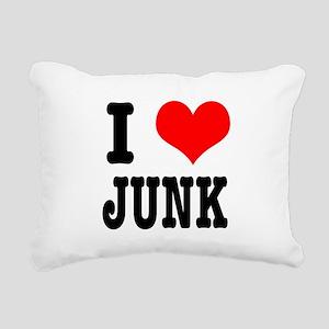 JUNK Rectangular Canvas Pillow