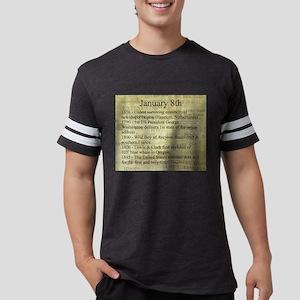 January 8th Mens Football Shirt