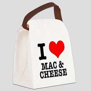 MAC CHEESE Canvas Lunch Bag