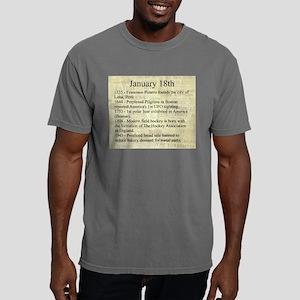 January 18th Mens Comfort Colors Shirt