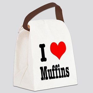 muffins Canvas Lunch Bag