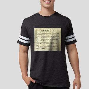 January 21st Mens Football Shirt