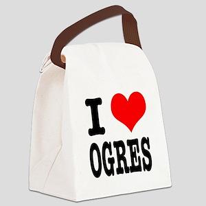 OGRES Canvas Lunch Bag