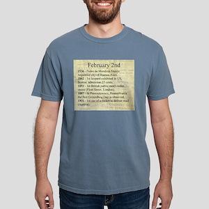 February 2nd Mens Comfort Colors Shirt