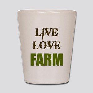 LIVE LOVE FARM (only) Shot Glass