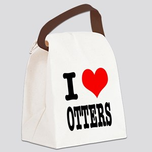 OTTERS Canvas Lunch Bag