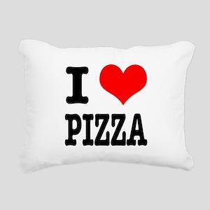 PIZZA Rectangular Canvas Pillow