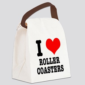 roller coasters Canvas Lunch Bag