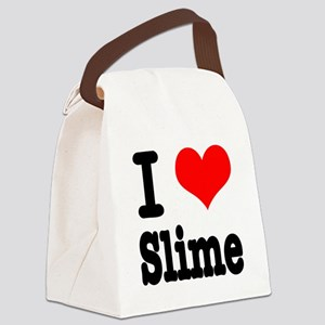 slime Canvas Lunch Bag