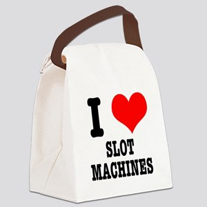 SLOT MACHINES Canvas Lunch Bag