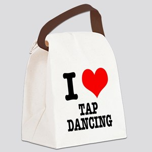 TAP DANCING Canvas Lunch Bag