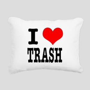 TRASH Rectangular Canvas Pillow