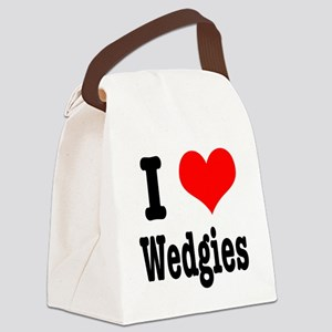 wedgies Canvas Lunch Bag