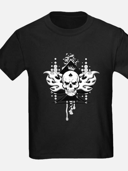 ace of spades skull T