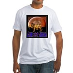 Lion of Judah 9 Fitted T-Shirt