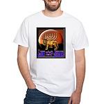 Lion of Judah 9 White T-Shirt